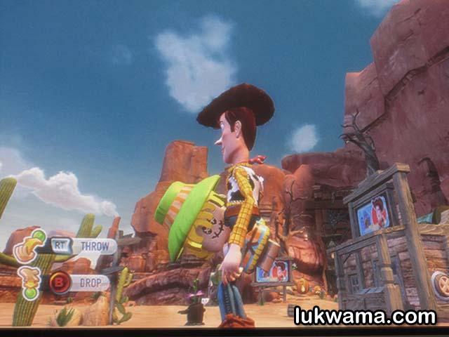 Scarecrow Toy Story 3 Game : 【心得】彈簧狗的稻草人任務 玩具總動員 哈啦板 巴哈姆特